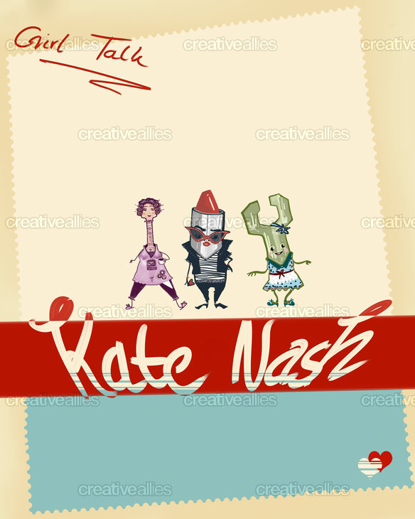 Kate Nash  Poster by Minzile on CreativeAllies.com