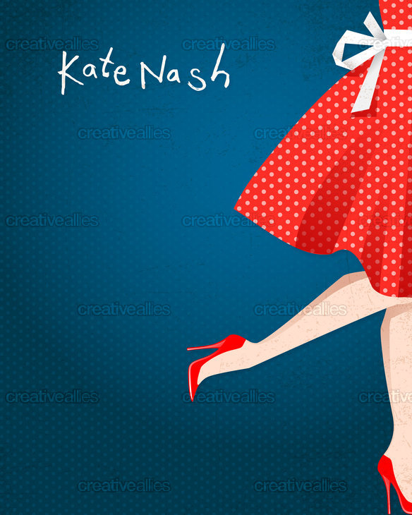 Kate Nash  Poster by bubu on CreativeAllies.com