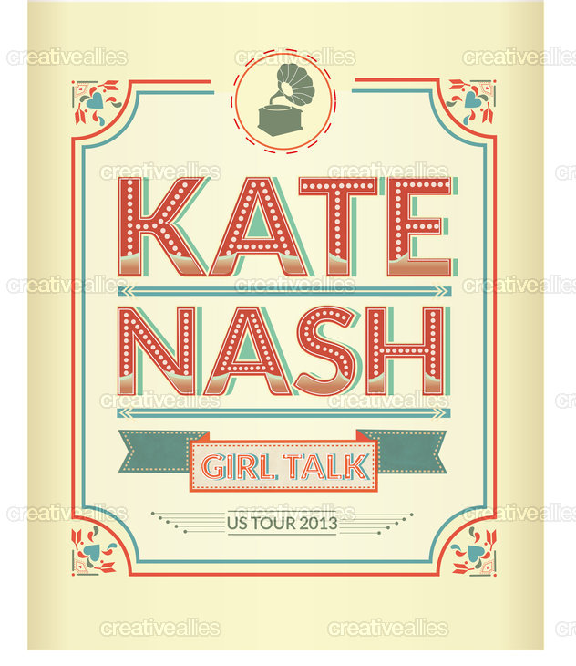 Kate Nash  Poster by ojodepez- on CreativeAllies.com