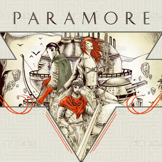 Paramore_commemorative_poster_art