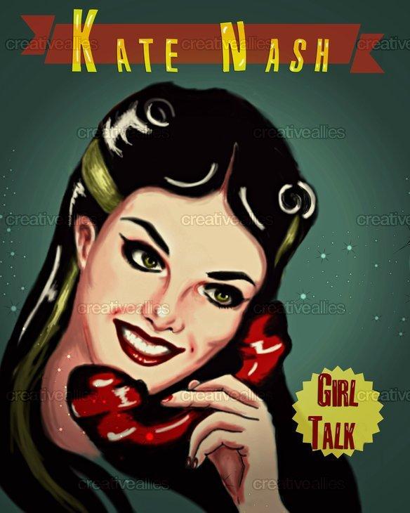 Kate Nash  Poster by Mirza Moneum on CreativeAllies.com