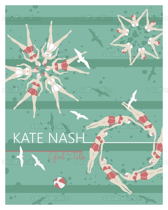 Kate Nash  Poster by hshields on CreativeAllies.com