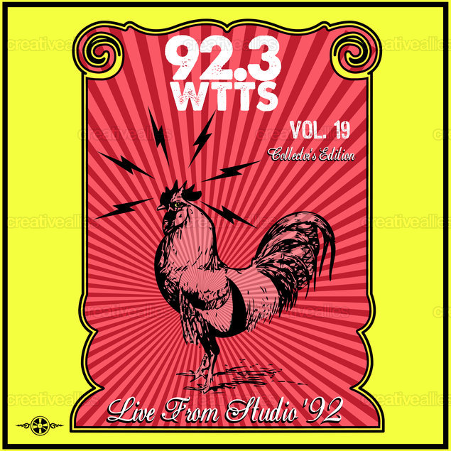 WTTS Indianapolis 92.3 FM Album Cover by Lorenzo Belmonte on CreativeAllies.com