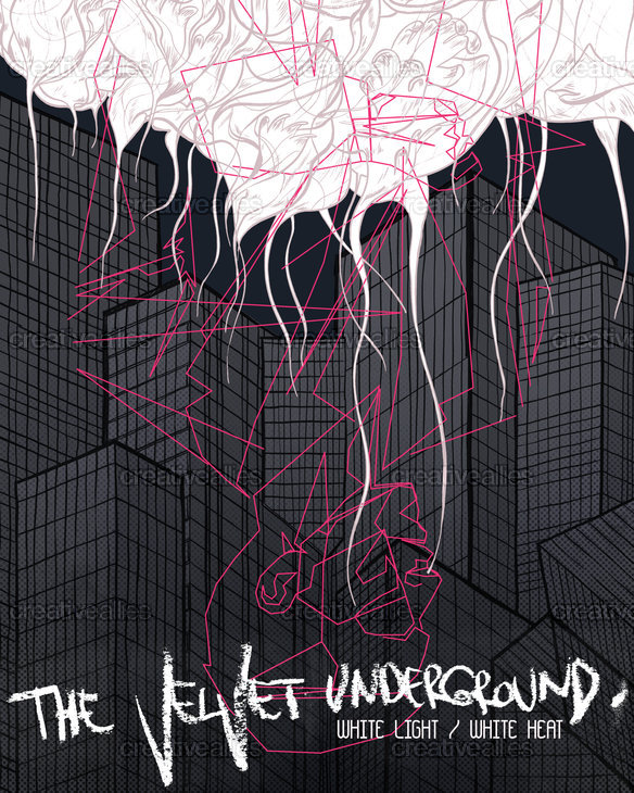 The Velvet Underground Poster by Esse on CreativeAllies.com