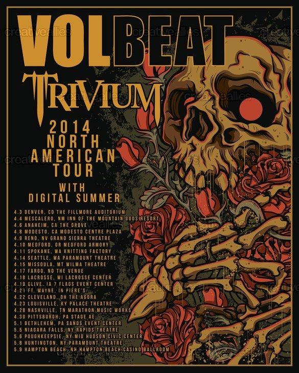Volbeat_-_trivium_poster