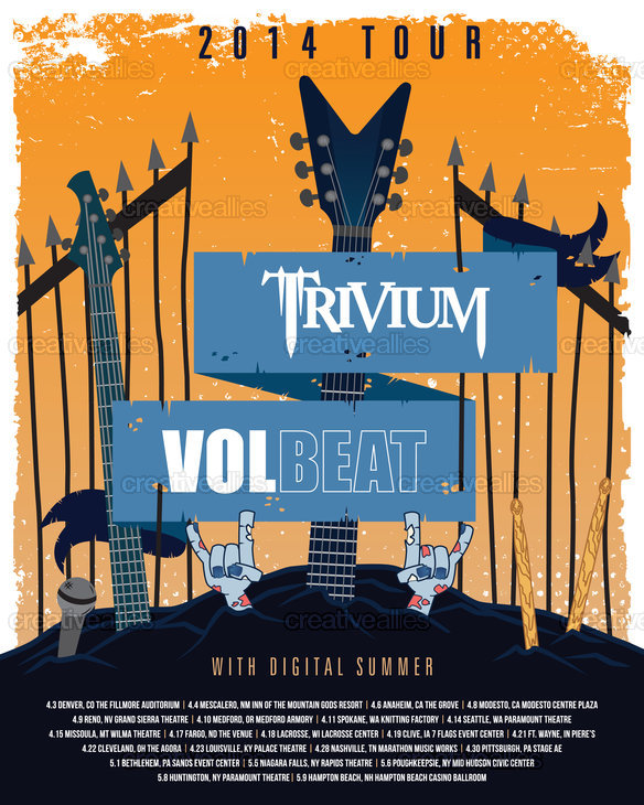Trivium-volbeat-poster-press