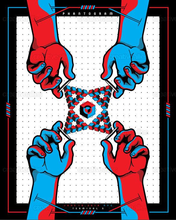 Phantogram Poster by GAMUT on CreativeAllies.com