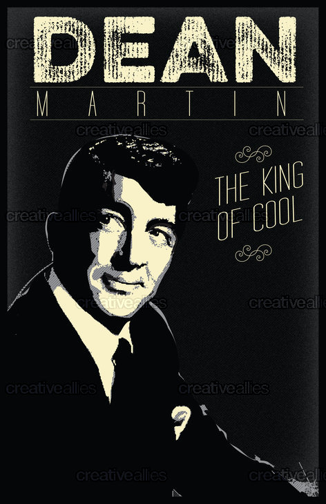 Dean Martin Print by Lorenzo Belmonte on CreativeAllies.com