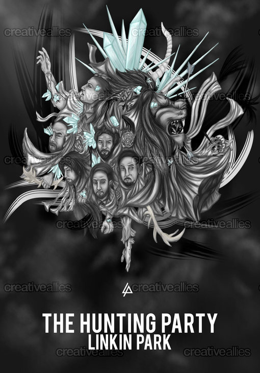 Linkin Park Poster by GinaGummy on CreativeAllies.com