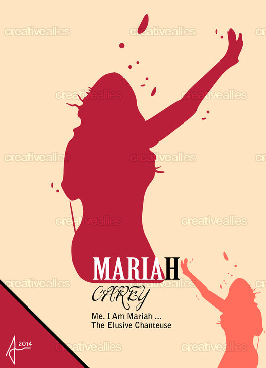 Mariah Carey Poster by Andre Koer on CreativeAllies.com