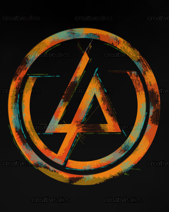 Linkin Park Poster by Andrew Grech on CreativeAllies.com