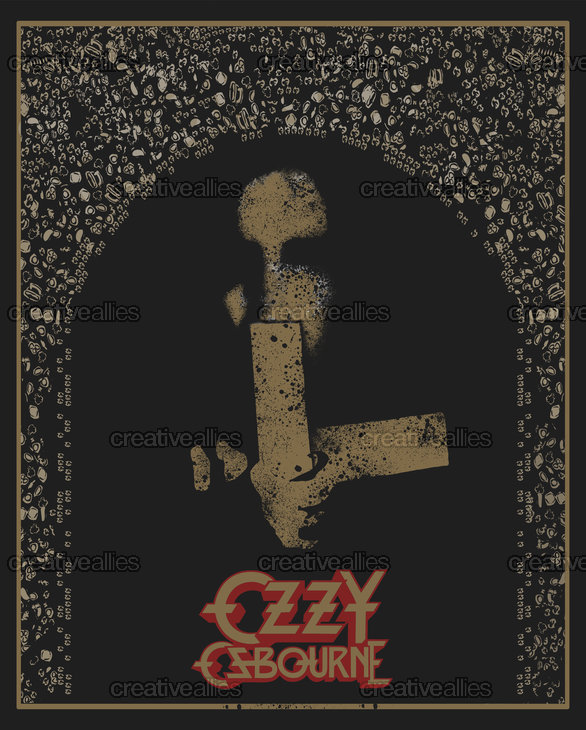 Ozzy Osbourne Poster by IndyAlexander on CreativeAllies.com