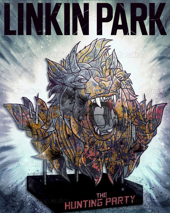 Linkin Park Poster by Dan Nash on CreativeAllies.com