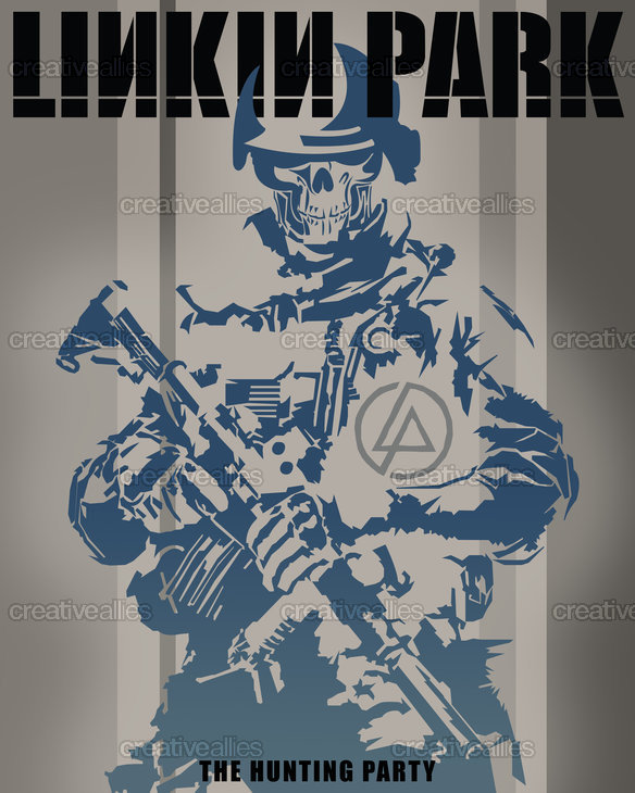 Linkin Park Poster by Vaughn Renner on CreativeAllies.com