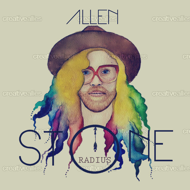 Allen Stone Poster by Kiralee.alchin on CreativeAllies.com
