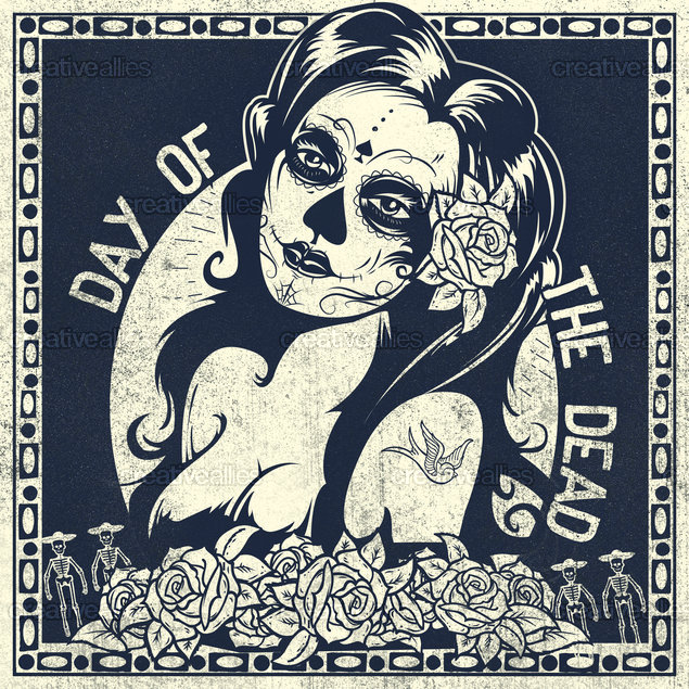 Day of the Dead Ally Art by Lorenzo Belmonte on CreativeAllies.com