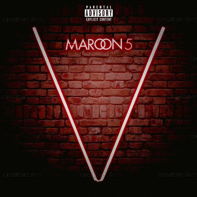 Album Cover created by   Derel12Maroon 5 Animals Album Cover