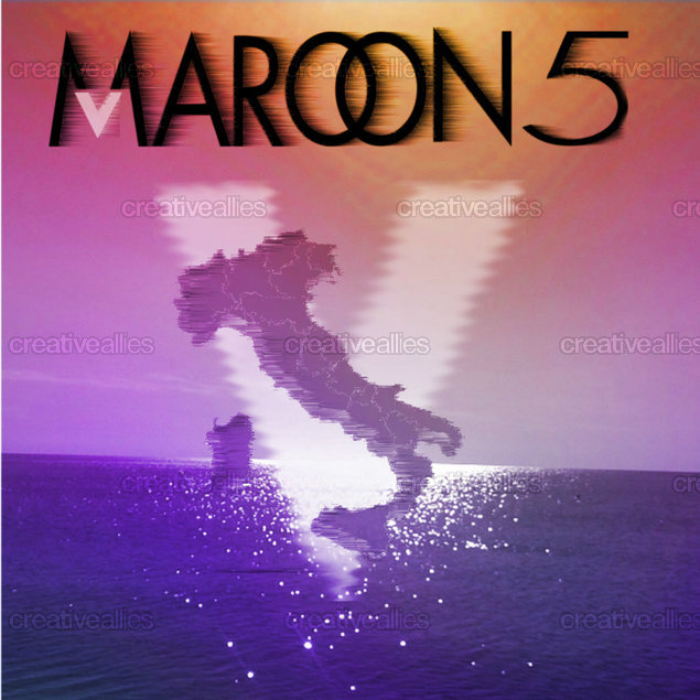 Maroon 5 Album Cover by Erica Tricarico