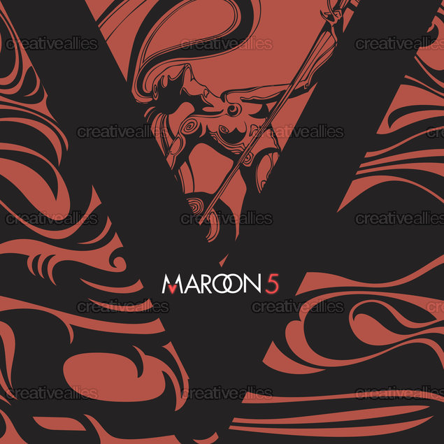 Maroon 5 Album Cover by Kimkong