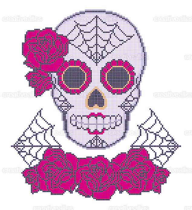 Sugar_skull_purple
