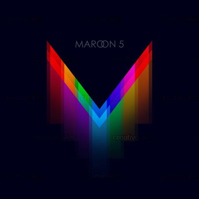 V Maroon 5 Album Cover Maroon 5 Album Cover b...