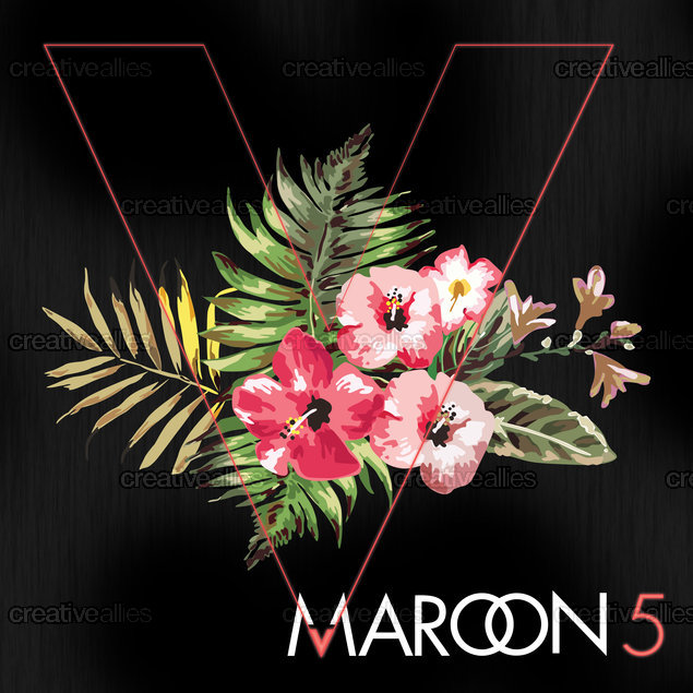 Maroon 5 Album Cover by Tash