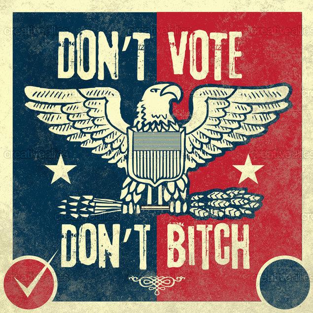 Election Season Ally Art by Lorenzo Belmonte on CreativeAllies.com
