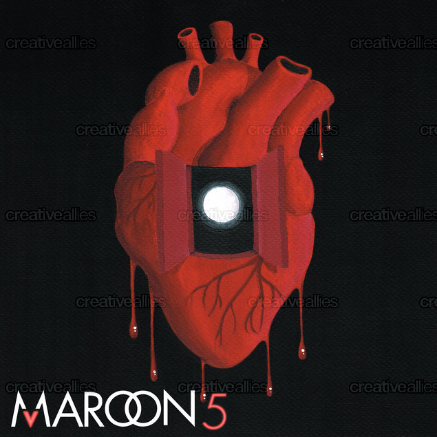 Maroon 5 Album Cover by Jimmy Paget on CreativeAllies.com
