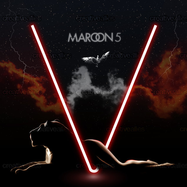 Maroon 5 Album Cover by Theodor Asoltanei
