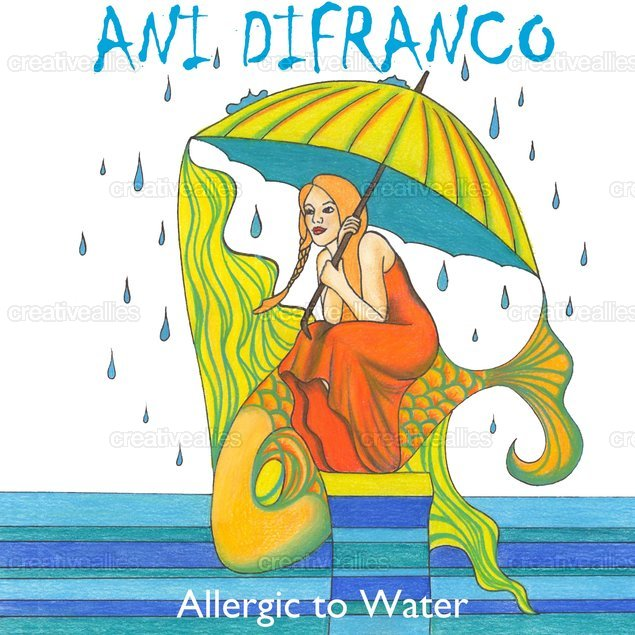 Ani DiFranco Ally Art by Signature Laurel on CreativeAllies.com