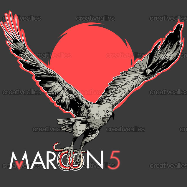 Maroon 5 Album Cover by Kenneth Sanchez on CreativeAllies.com