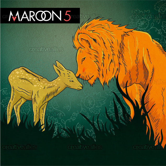 Maroon 5 Album Cover by japdua on CreativeAllies.com