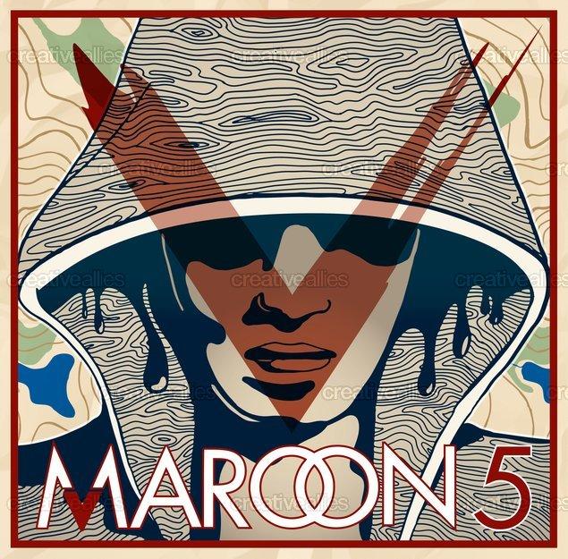 Maroon 5 Album Cover by Alkme_ on CreativeAllies.com