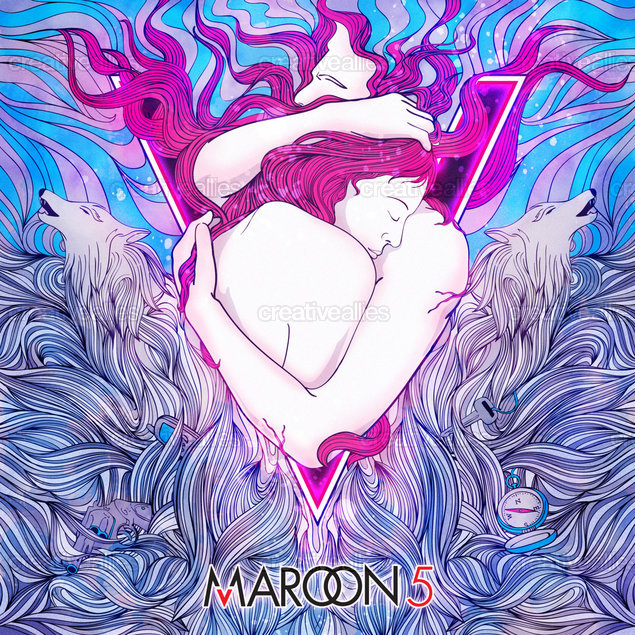 Maroon 5 Album Cover by G2 on CreativeAllies.com