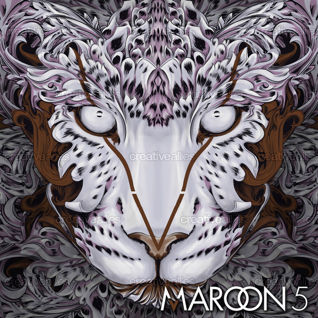 Maroon 5 Album Cover by Bayo Gale on CreativeAllies.com
