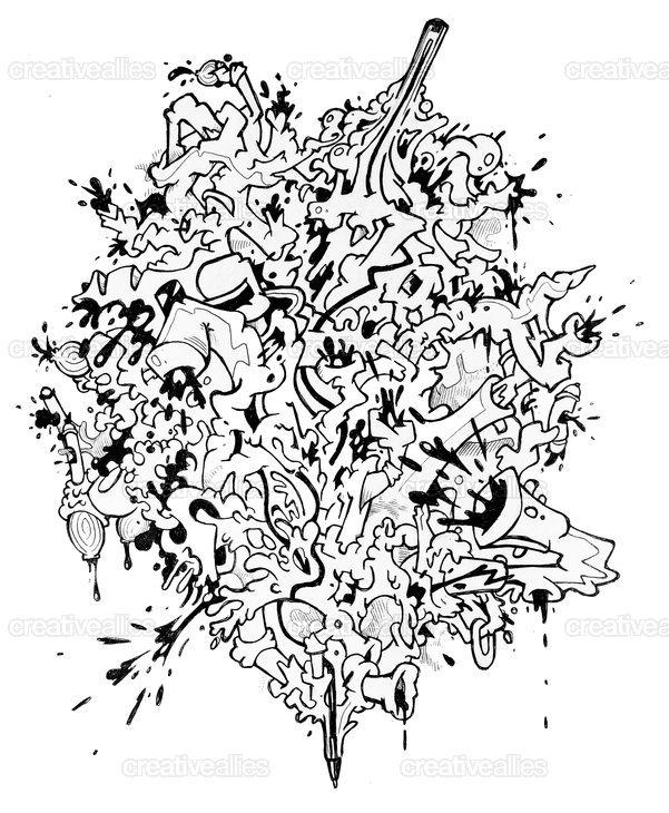 BIC® Cristal® Pen Ally Art by mcclept on CreativeAllies.com