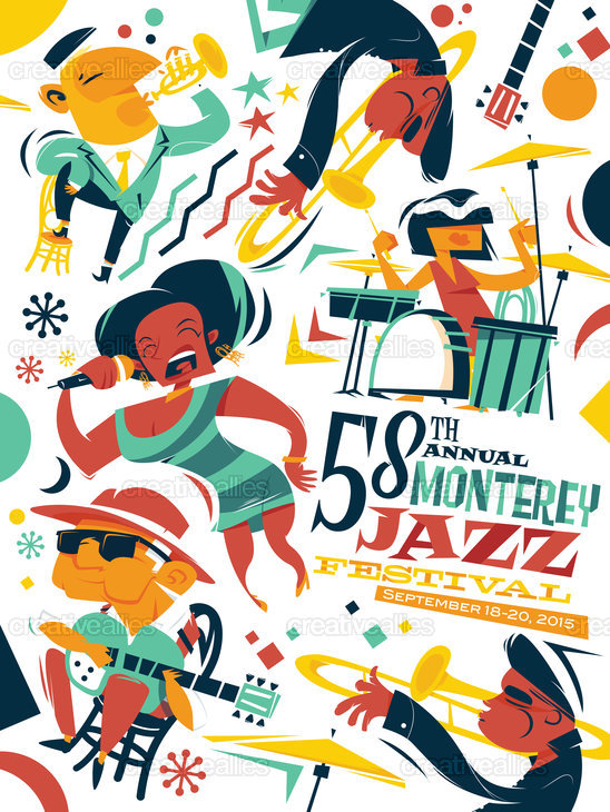 Design the Official Poster for the Monterey Jazz Festival