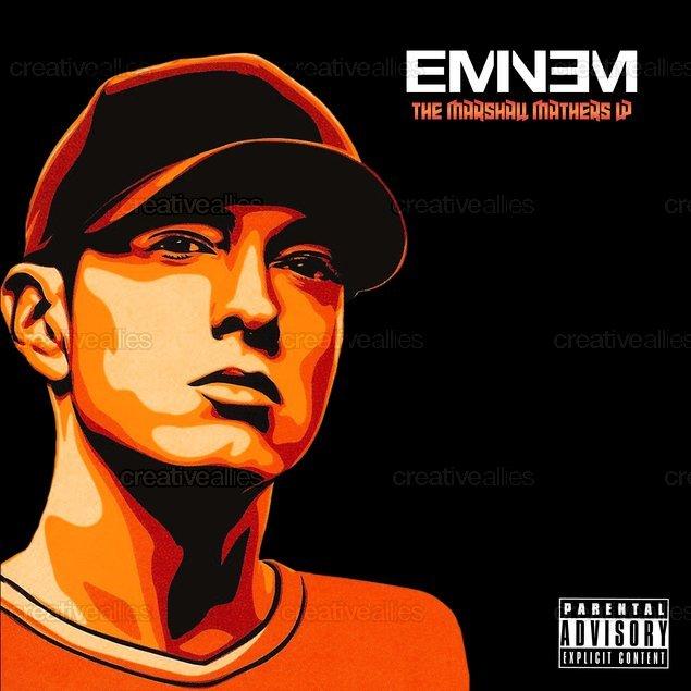 Eminem Album Cover by OG on CreativeAllies.com