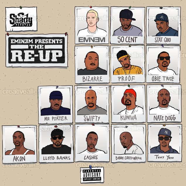 Eminem Album Cover by bigmitch on CreativeAllies.com