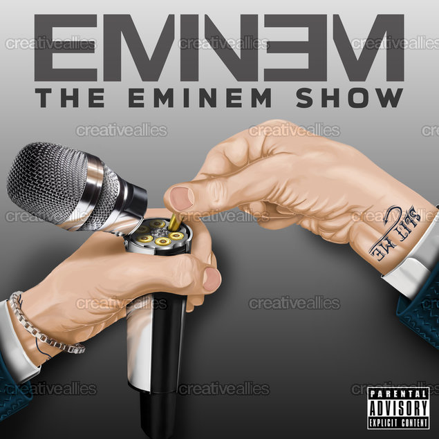 Eminem Album Cover by Granit on CreativeAllies.com