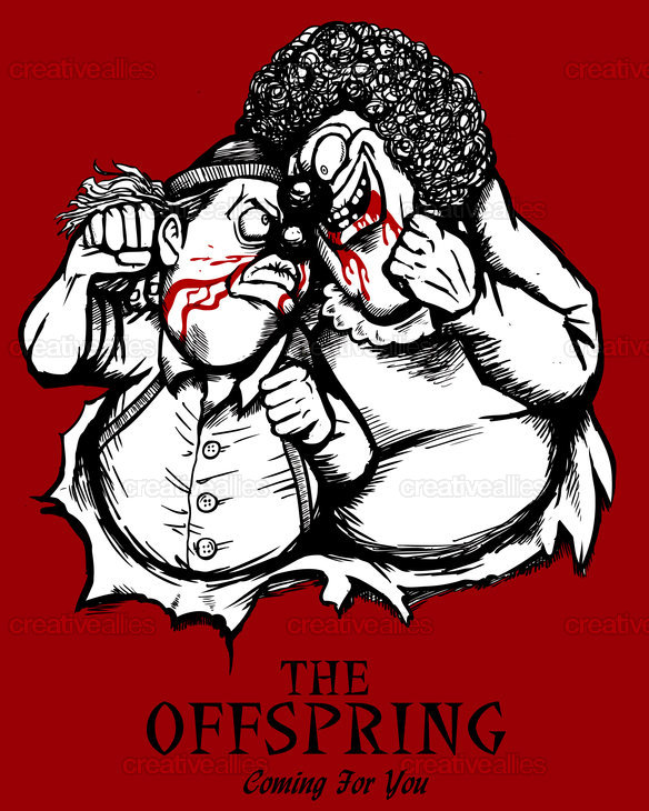The Offspring Merchandise Graphic by Nukui Bogard on CreativeAllies.com