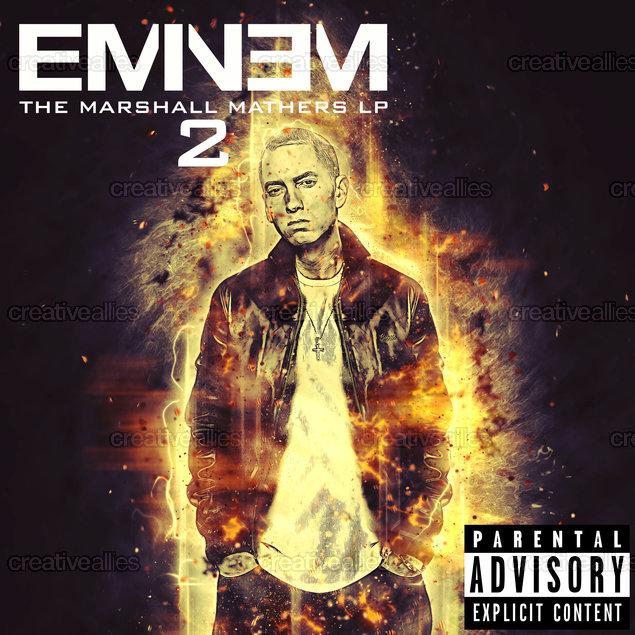 Eminem Album Cover by hassansherif on CreativeAllies.com