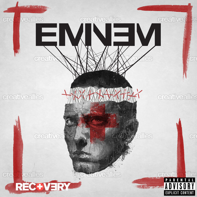 Eminem Album Cover by HRDYYHNSYH