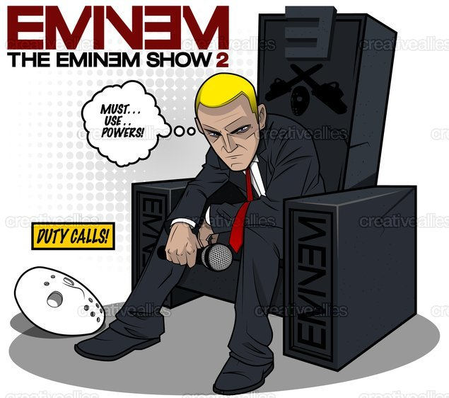 Eminem Album Cover by Lui Correia on CreativeAllies.com