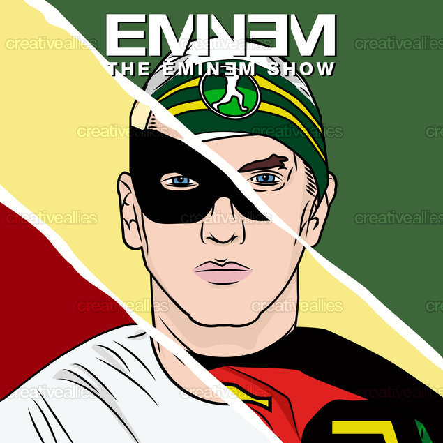 Eminem Album Cover by Rory A MacColl on CreativeAllies.com