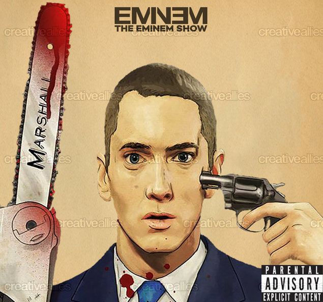Eminem Album Cover by agonh on CreativeAllies.com