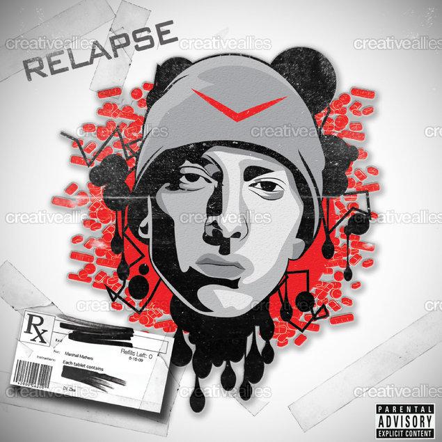 Eminem Album Cover by xTwest on CreativeAllies.com