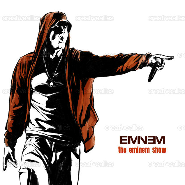 Eminem Album Cover by Mynx on CreativeAllies.com