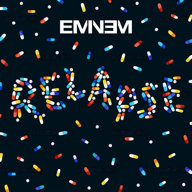 Eminem Album Cover by martinascott on CreativeAllies.com