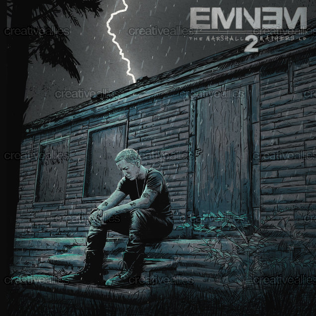 Eminem Album Cover by Dan Nash